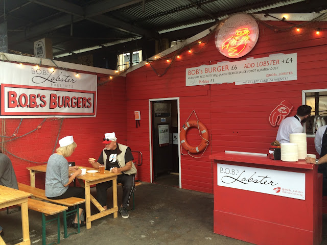BOBs Lobster shack - National Burger Day 2015