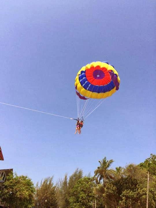 2014 Langkawi Trip-1st time Parachute