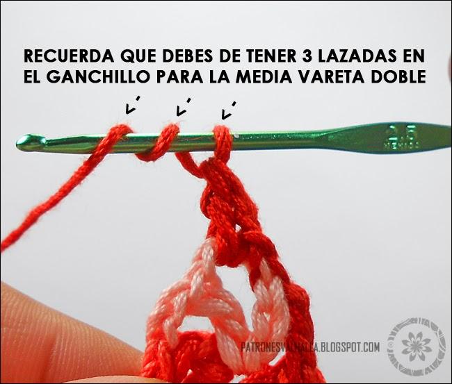 Flor de Siete pétalos a Crochet (foto-tutorial) - PATRONES VALHALLA ...
