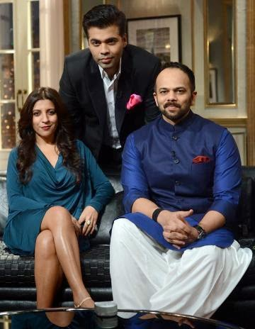 Zoya Akhtar & Rohit Shetty in Koffee with Karan 21st March 2014
