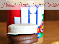Peanut Butter Ritz Cookies