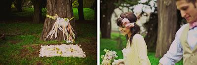 semplicemente perfetto wedding picnic cane romantico