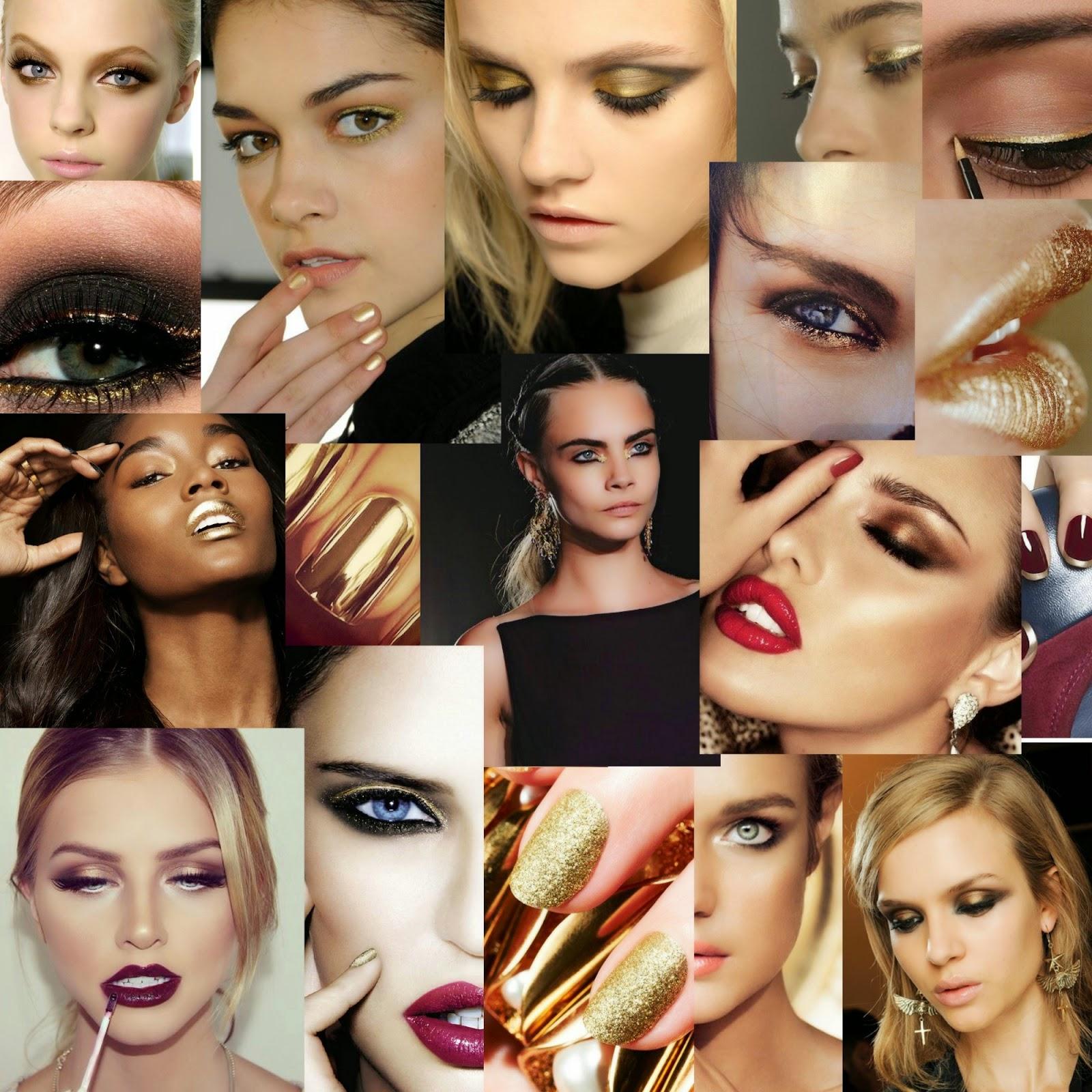Maquillaje Dorado. Maquillaje Nochevieja. Golden Beauty. Ojos dorados. Uñas doradas. Uñas metalizadas. Uñas metálicas. Uñas francesas enn dorado
