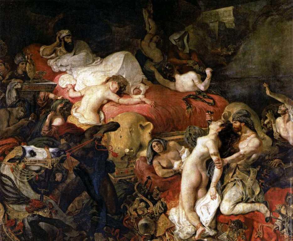 Delacroix en Caixaforum 33+La+muerte+de+Sardanapalo+de+Delacroix+aret+y+erotismo