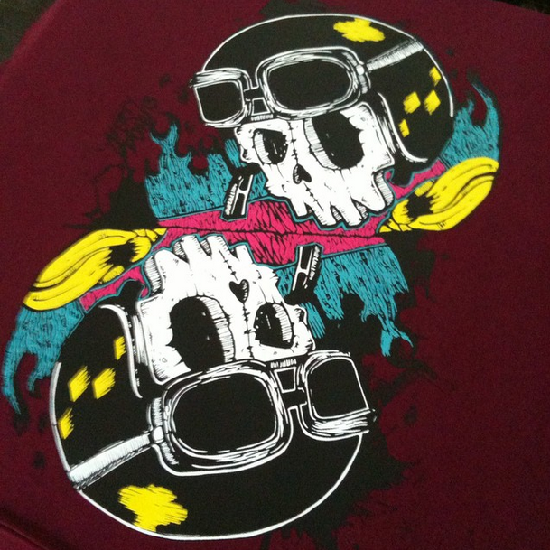 Dirtydonuts Skully Ride Hard