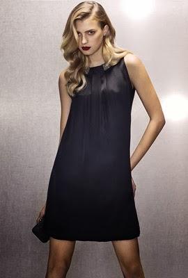 Massimo Dutti vestido de fiesta negro
