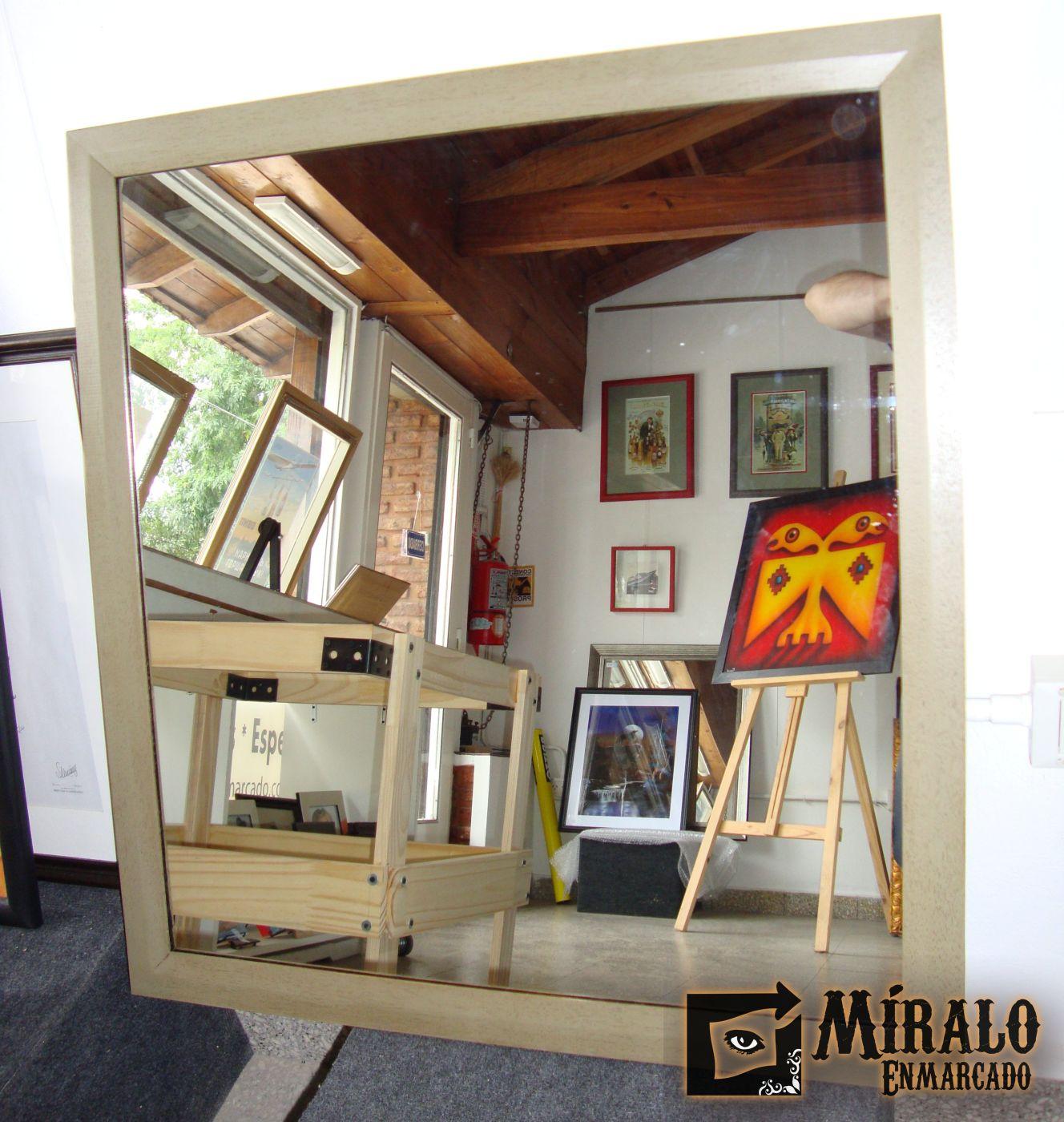 Espejos decorativos para ba os y ambientes a medida for Espejos decorativos bano