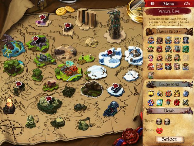 Desktop Dungeons v9 Apk + Datos SD Mod [ oro / Salud]
