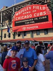 Cubs Game with My Boys!