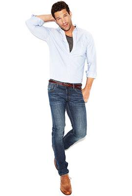 jeans corte recto para hombres