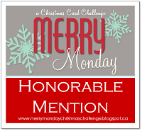 Honoured by an honourable mention