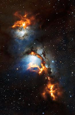 messier 78 formacion estrellas