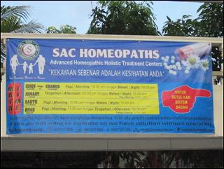 rawatan homeoterapi