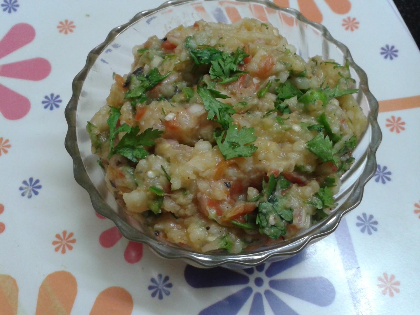 Baingan Bharta Recipe - बैंगन का भरता  Baingan Chokha  Chokha