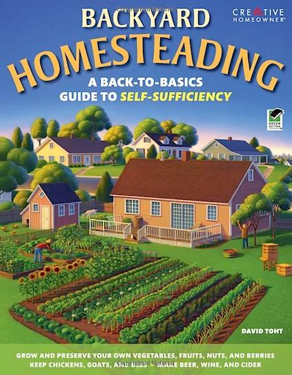 Backyard Farming Books : Book  Backyard Homesteading