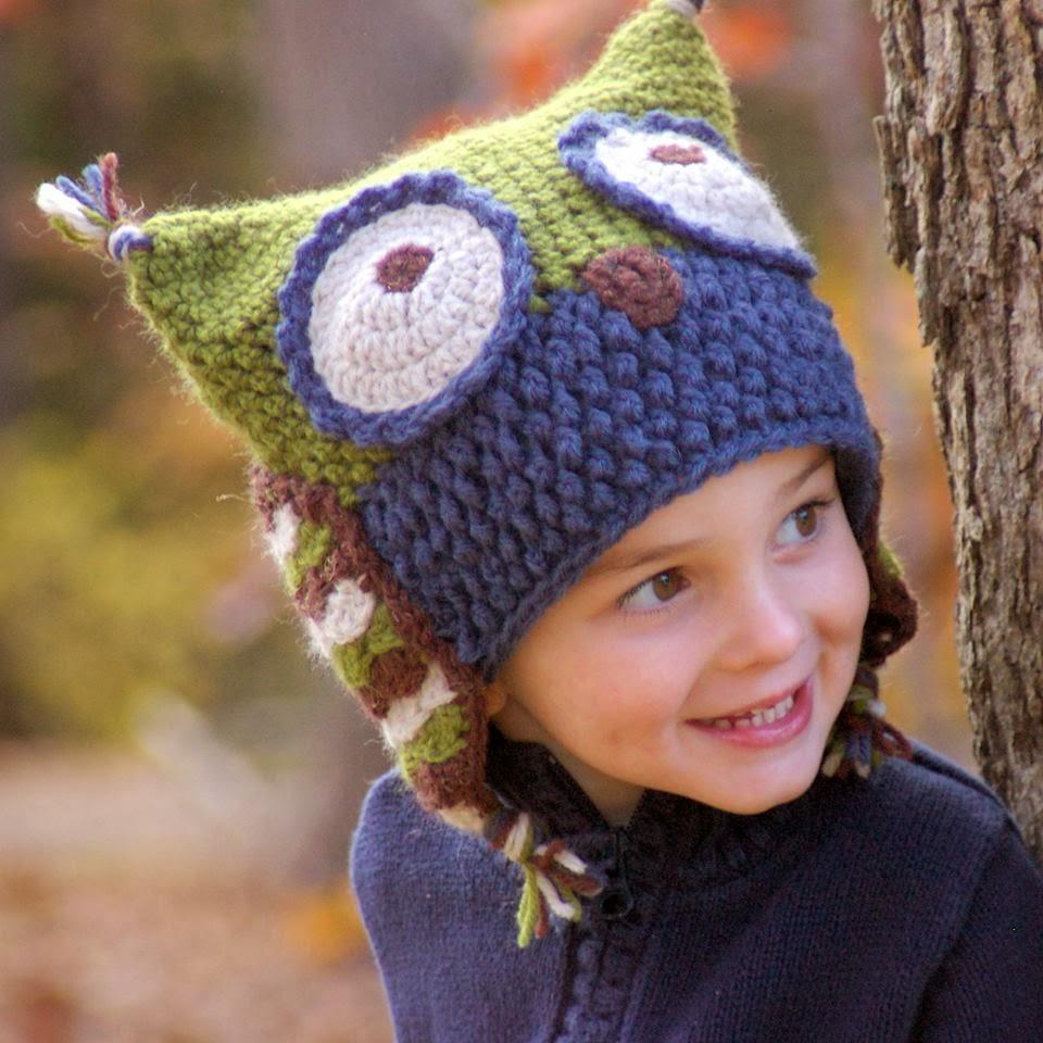 Güzel Baykuşlu Şapka Modeli