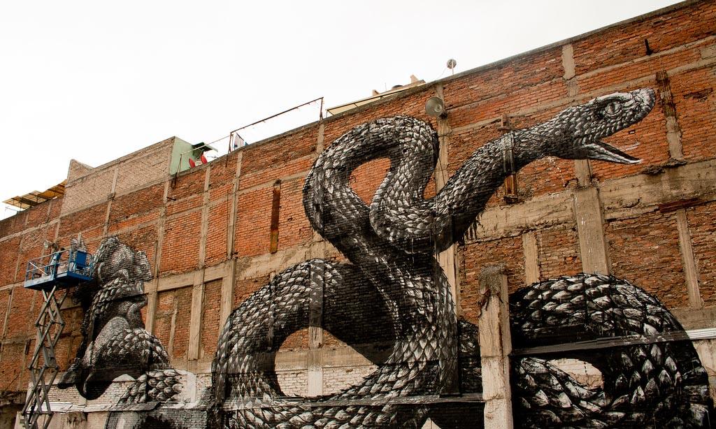 ROA New Mural Mexico City