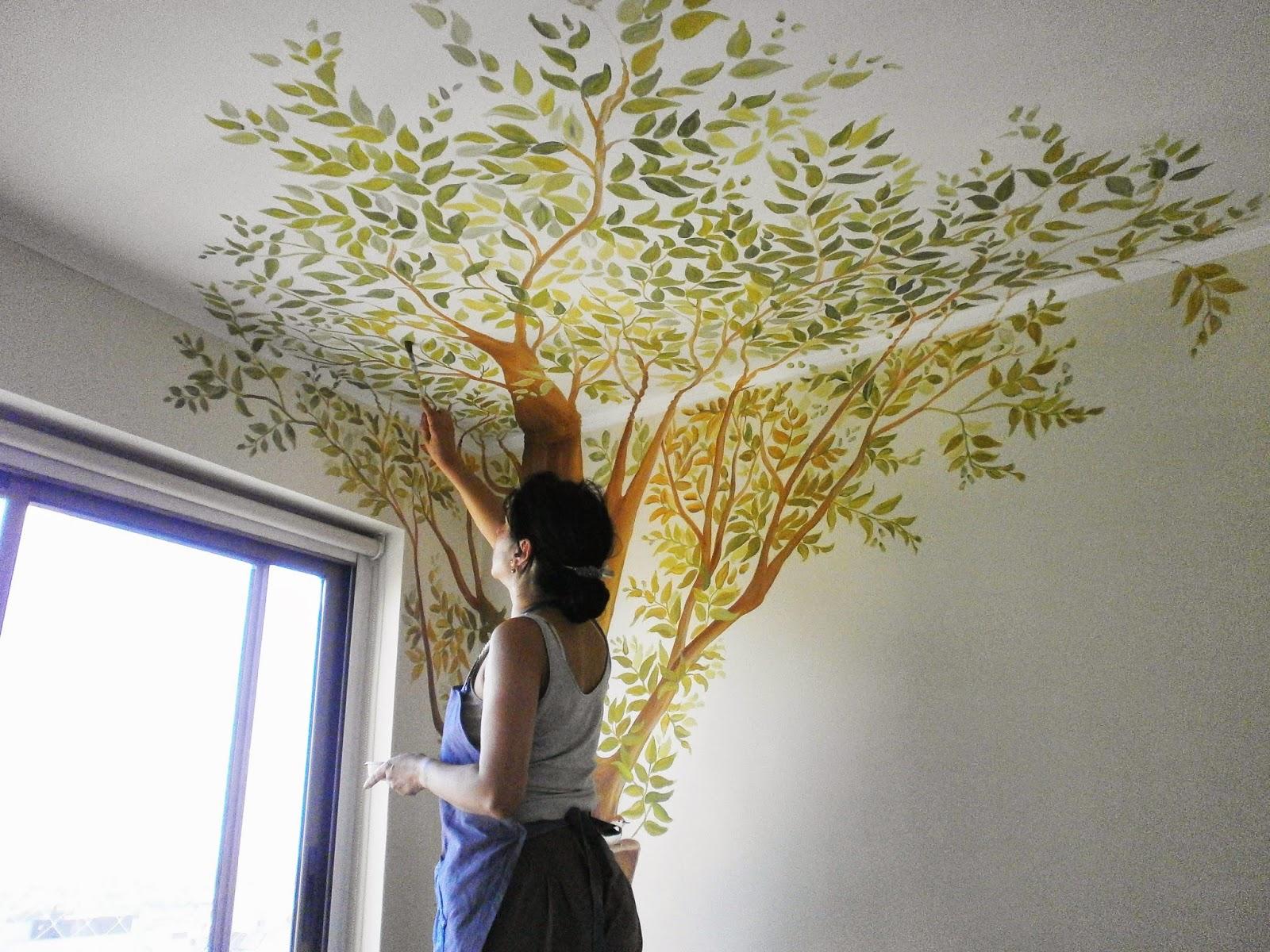 Cuadros art sticos arte vegano y murales por raquel for Murales decorativos pared baratos