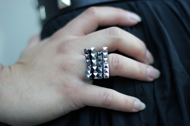Stacked Asymetrical Rings