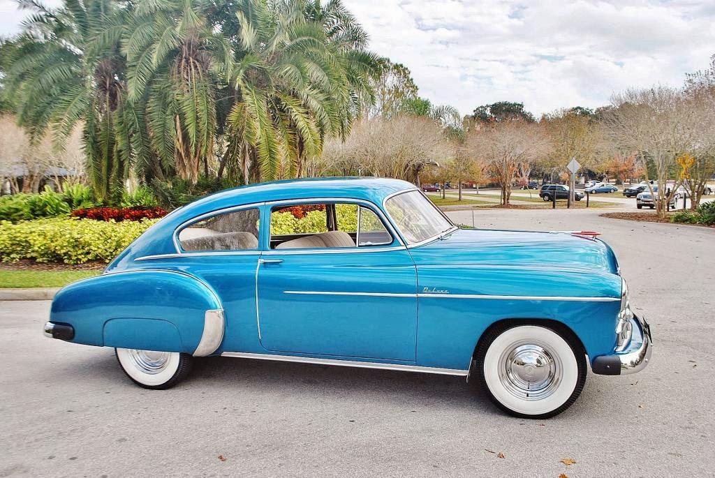 All american classic cars 1949 chevrolet deluxe fleetline for 1949 chevy fleetline 2 door for sale