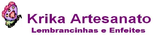 Krika Artesanato - Lembrancinhas e Enfeites