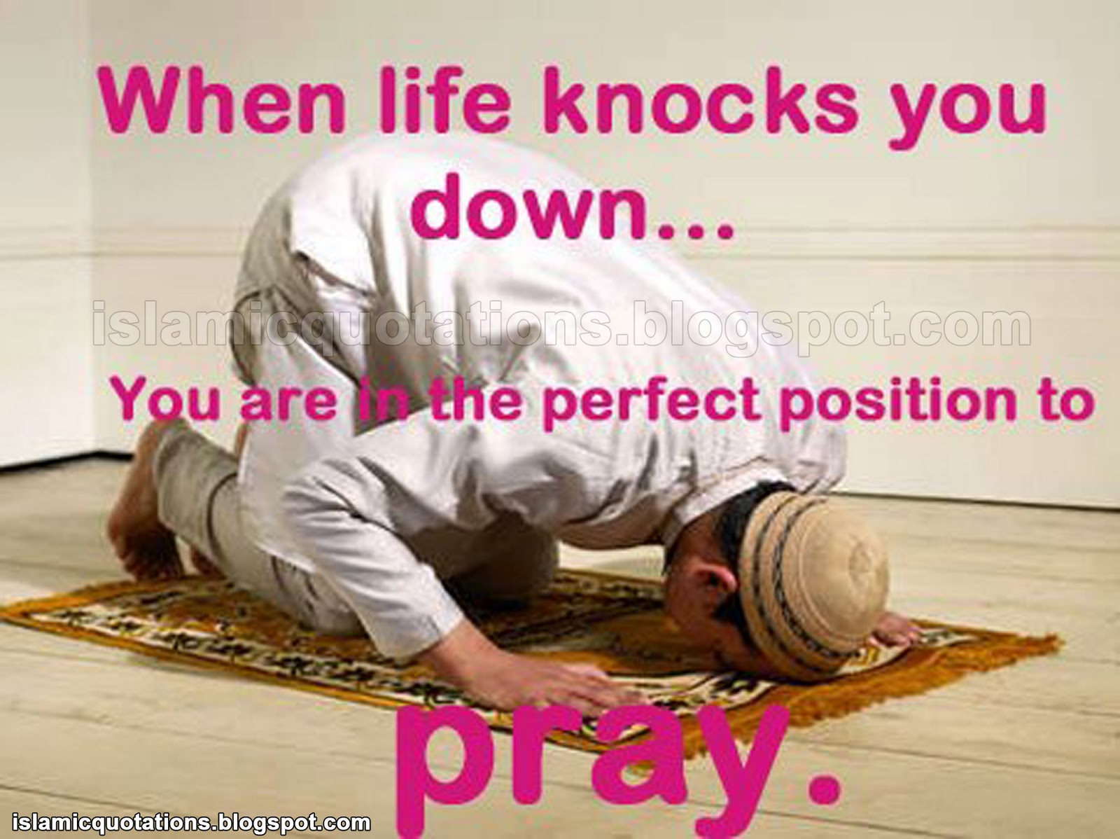 Islamic Quotes About Life Islamic Quotations When Life Knocks You