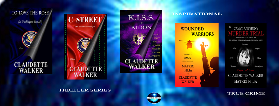 WELCOME TO MY WRITER'S LAIR...Claudette Walker, Author