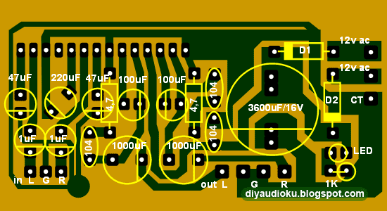 layout pcb namec microtec