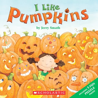 bookcover of I Like Pumpkins  by  Jerry Smath