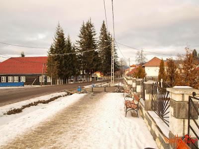 Centrul comunei Bilbor