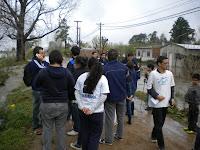 La Cámpora Campana junto a los damnificados por la inundación en barrio Otamendi