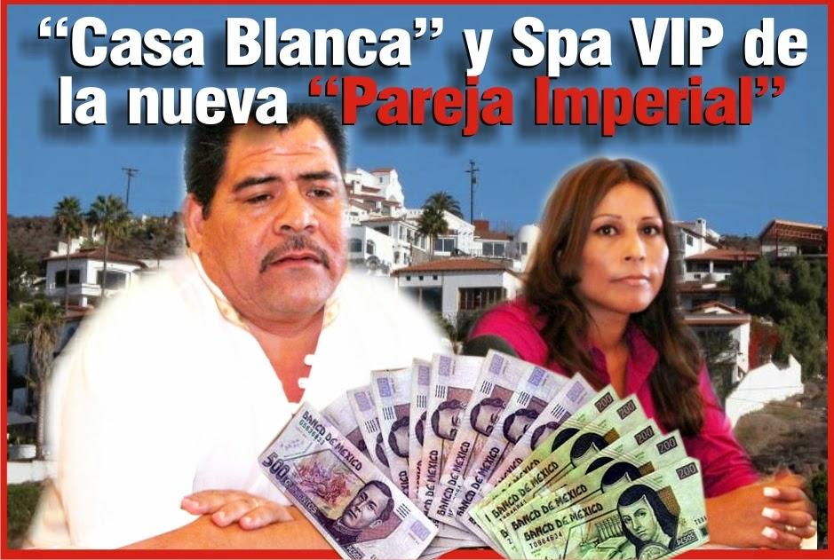 """RTNoticias: """"Casa Blanca"""" y Spa VIP de la nueva """"Pareja Imperial"""""""