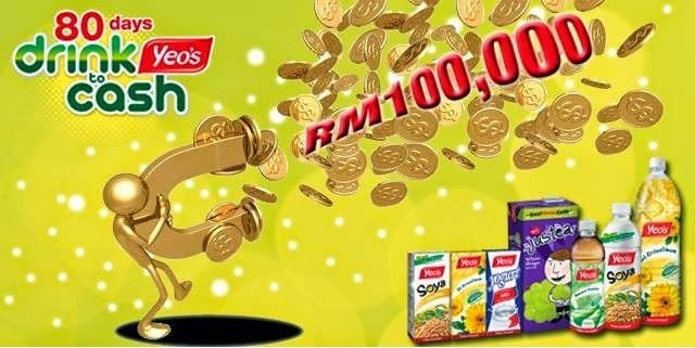 Pecutan Terakhir Untuk Menang RM100,000 Dari Yeos Malaysia