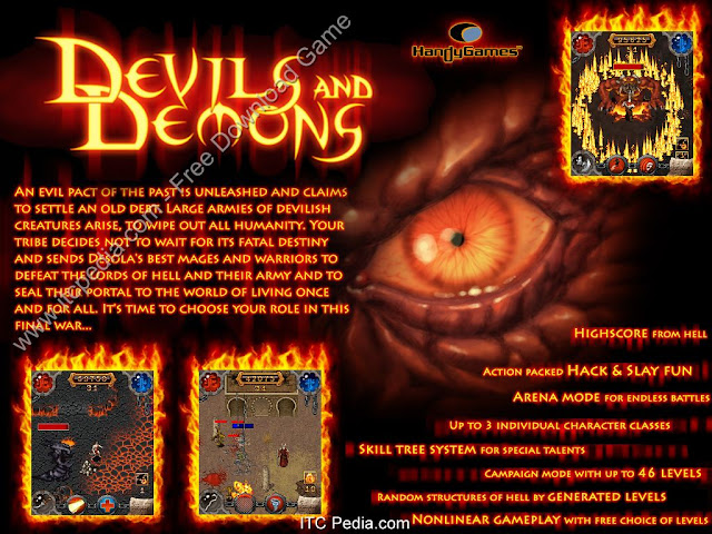 DownLoad. Devils And Demons Gold [by Handy Games] s60v3 / s60v5 Java Game ...