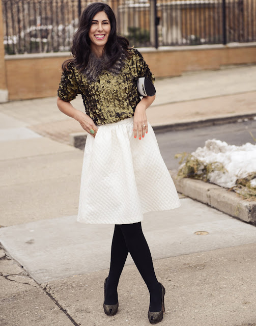Bryan Whitely photographs Jessica Moazami, Fashion Junkie, for Wardrobe featuring H&M skirt