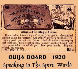 how to open the portal on a ouija board