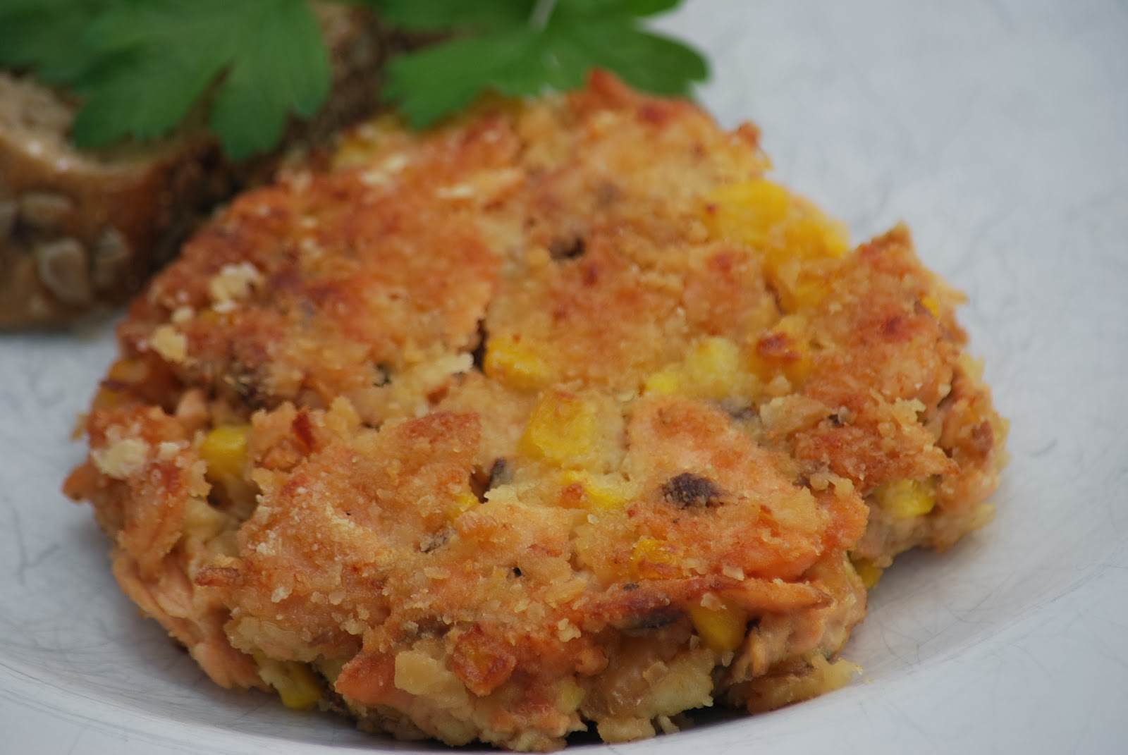 how to make salmon patties without crackers