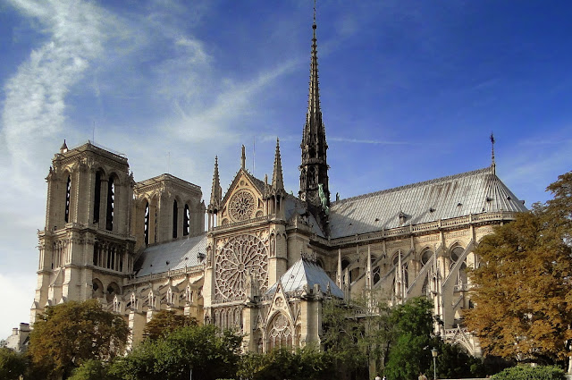 法國巴黎聖母院大教堂