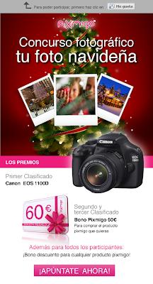 concurso+pixmigo+gana+camara+EOS+1100D+y+bonos+60+euros