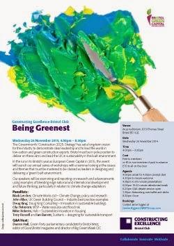 being greenest