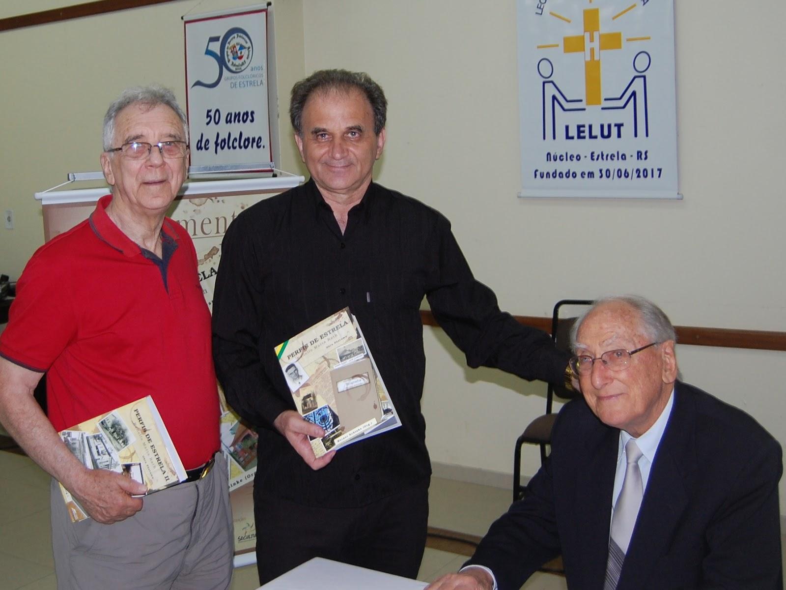 Airton Engster dos Santos, Adonis Fauth e Werner Schinke