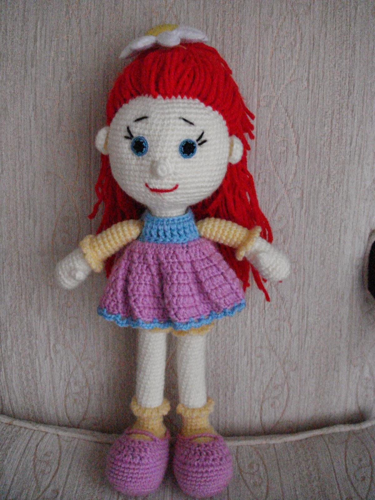 Вязание куклы канди доллс