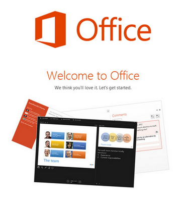 Paket MS Office 2013