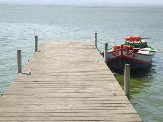 Boat in docks - El Mirador - Albufera - El Saler - Valencia