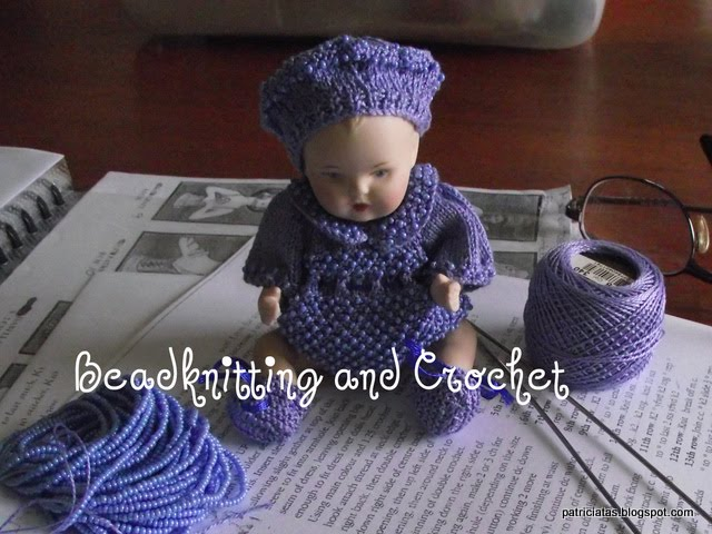 Bead knitting and crochet