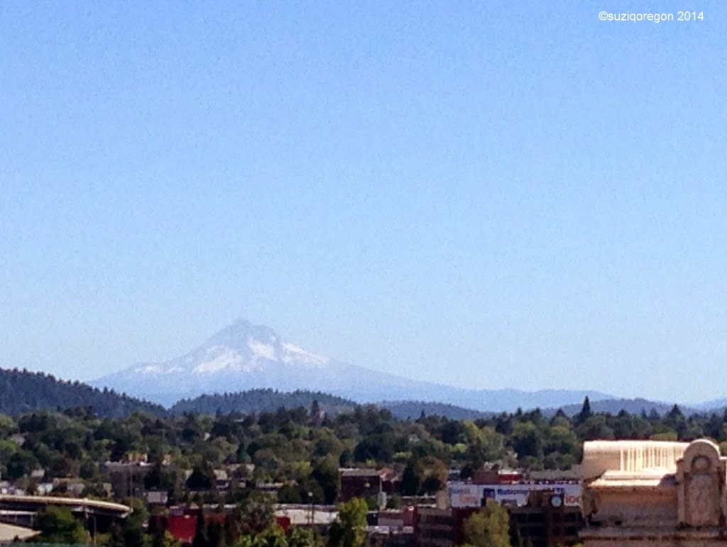 Mt.Hood from downtown Portland