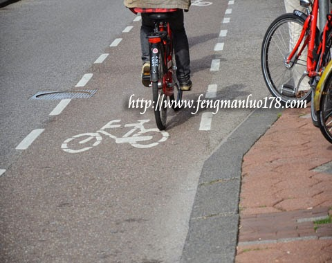 荷兰脚踏车道