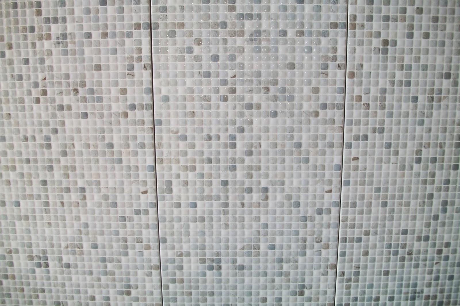 aqui a combinação com o piso que será colocado na parte de fora  #515C5C 1600x1066 Banheiro Com Azulejo Quadriculado