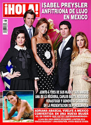 MY WORK FOR HOLA MEXICO (COVER)