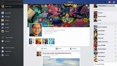 Facebook for Windows 8.1